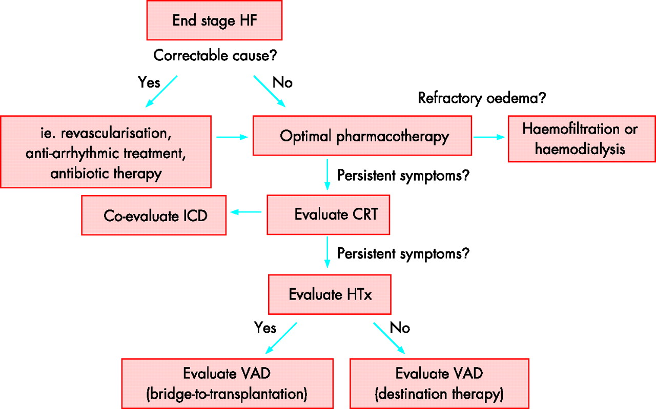 Management Of End Stage Heart Failure Heart