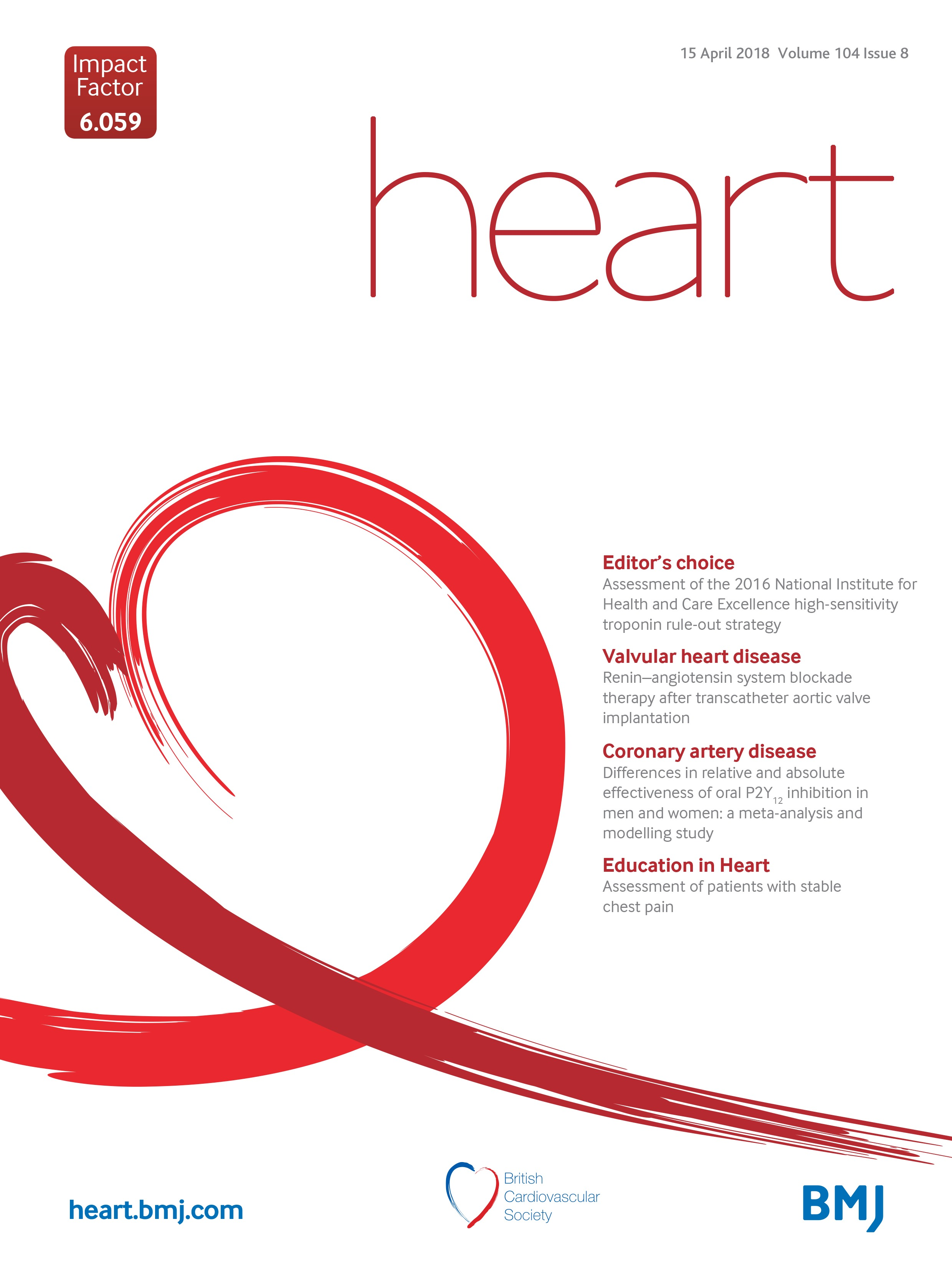 increased coronary heart disease and stroke hospitalisations from