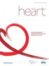 Heart: 101 (Suppl 4)