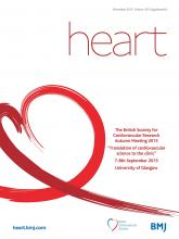 Heart: 101 (Suppl 6)