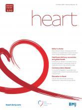 Heart: 106 (19)