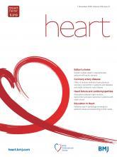 Heart: 106 (21)