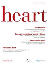 Heart: 98 (11)