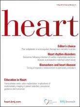 Heart: 98 (9)